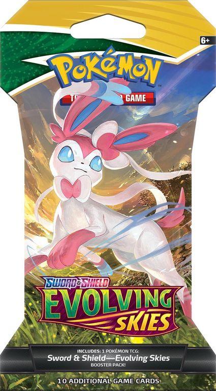 Pokémon Sword & Shield Evolving Skies Sleeved Booster box