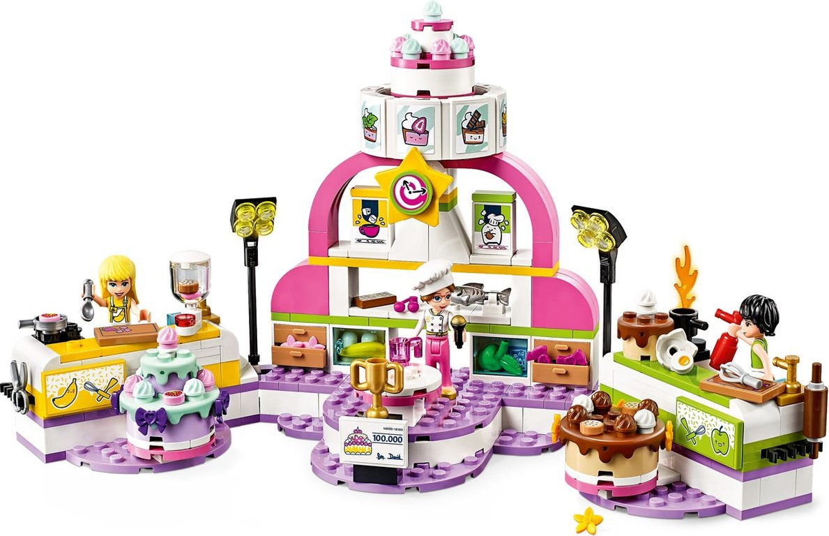 LEGO® Friends Baking Competition gameplay