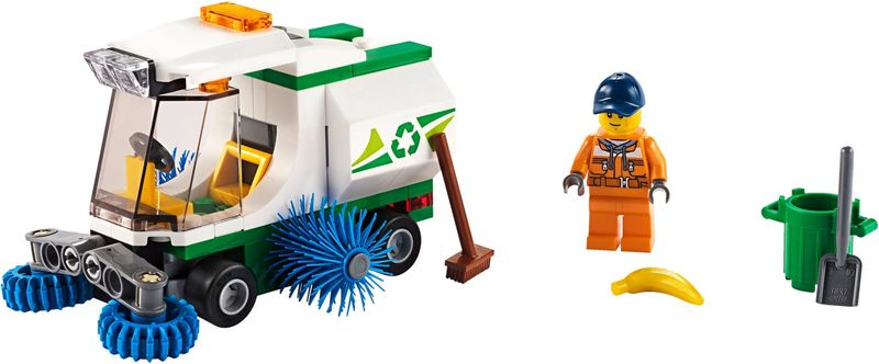 LEGO® City Street Sweeper components