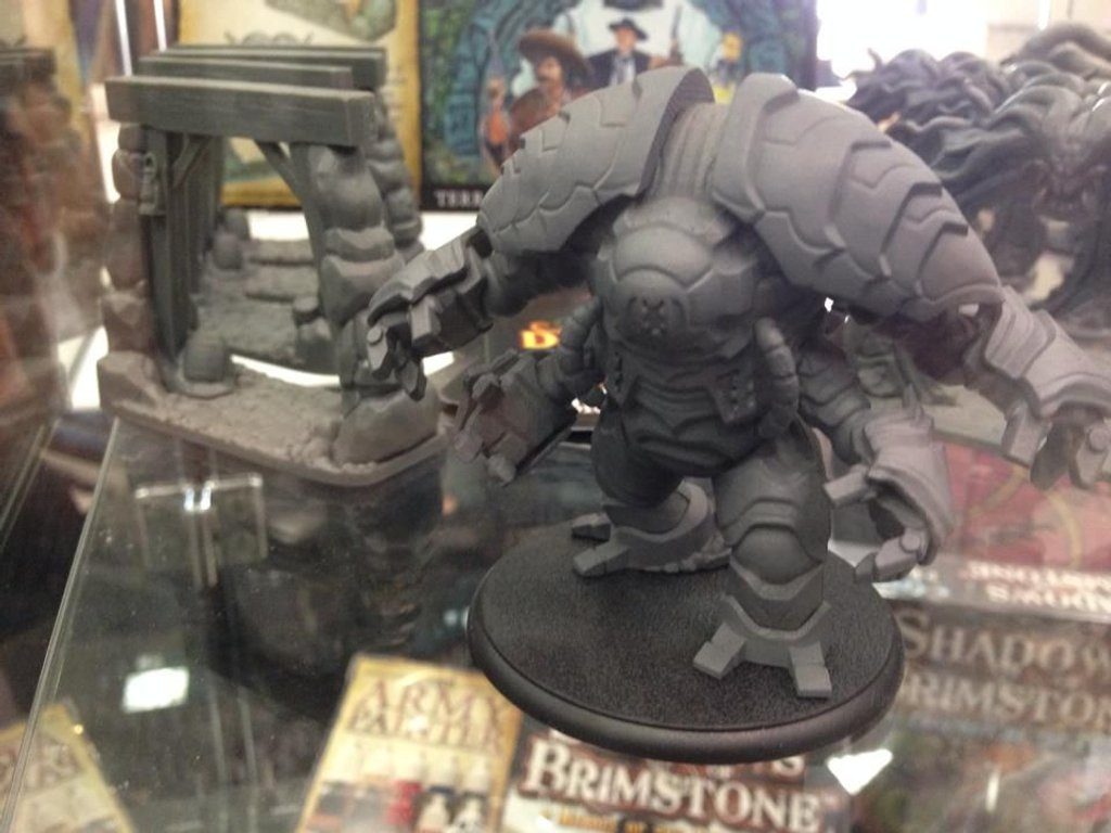 Shadows of Brimstone: City of the Ancients miniatures