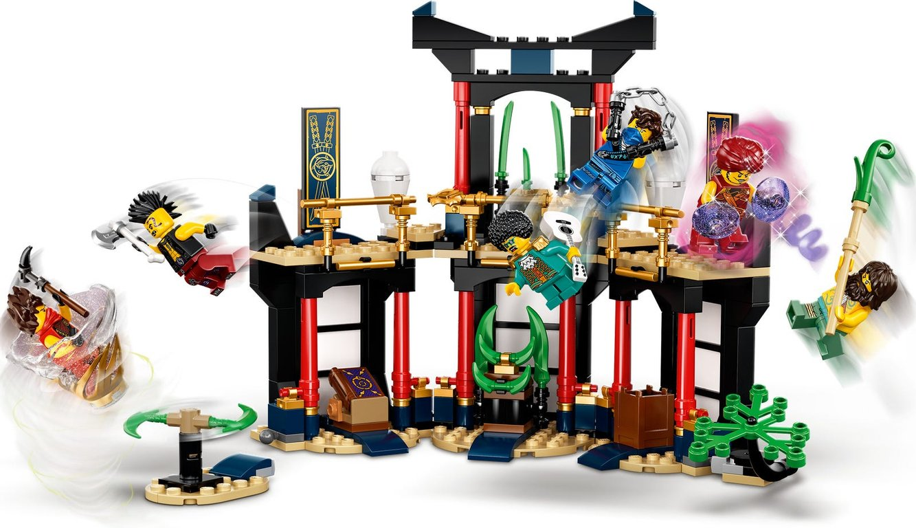 LEGO® Ninjago Tournament of Elements gameplay