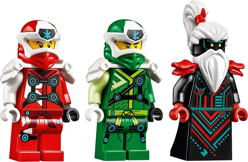 Empire Dragon minifigures