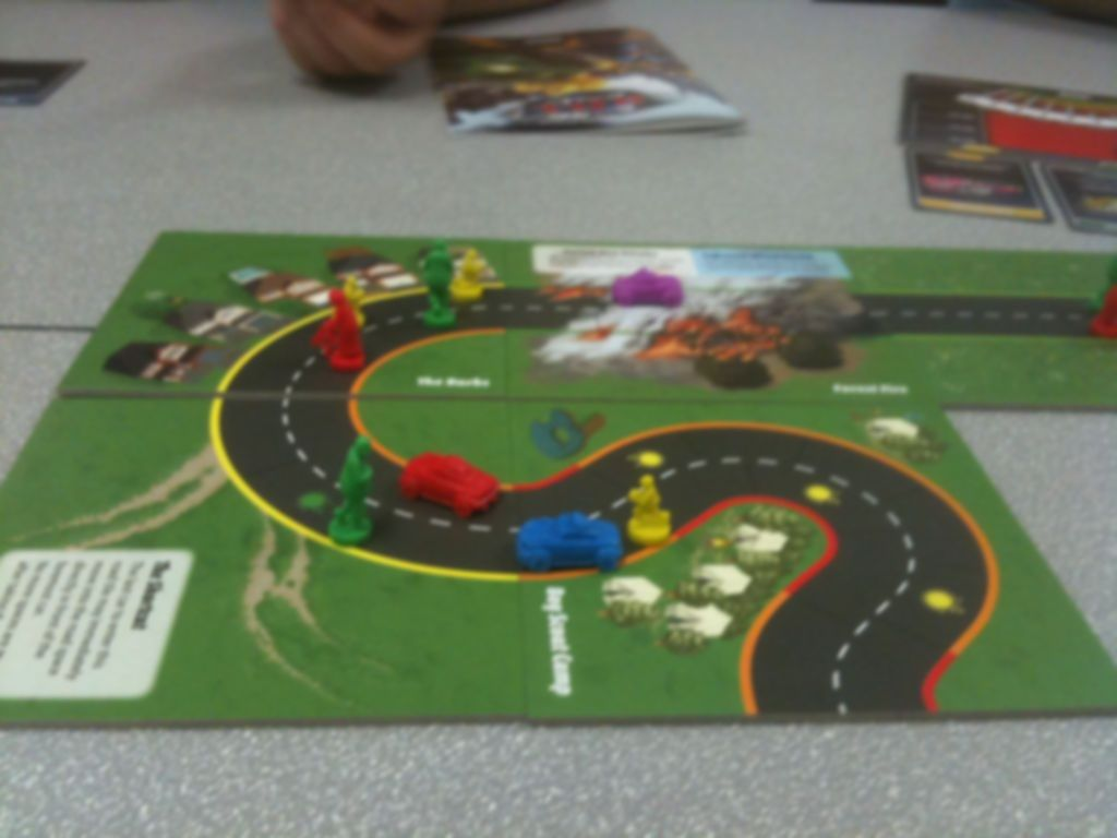 Road Kill Rally gameplay