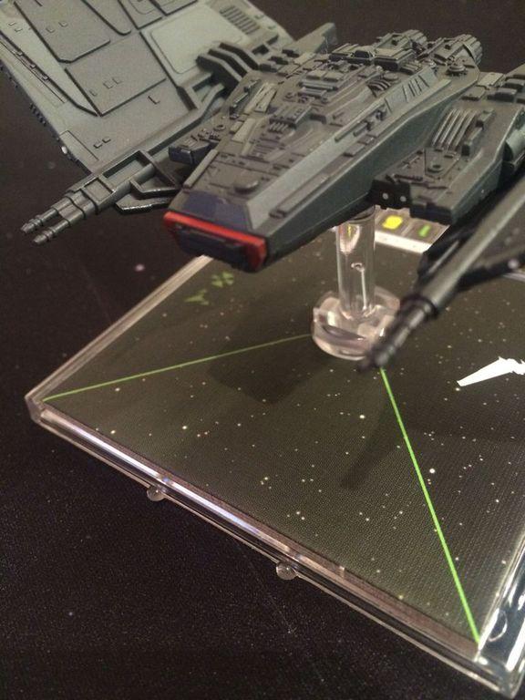 Star Wars: X-Wing Miniatures Game - Upsilon-class Shuttle Expansion Pack miniature