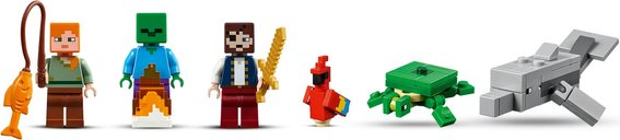 The Pirate Ship Adventure minifigures