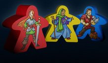 Carcassonne: 20th Anniversary Edition pawns