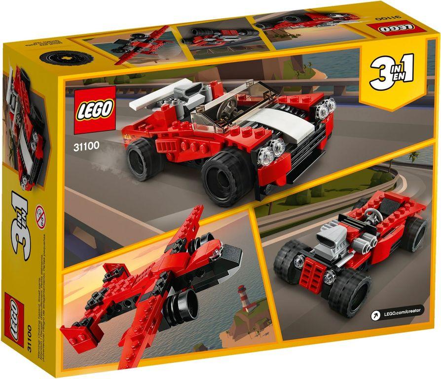 LEGO® Creator Sport Car back of the box