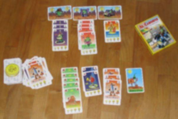 Al Cabohne cards