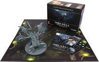 Dark Souls: The Board Game – Gaping Dragon Boss Expansion components