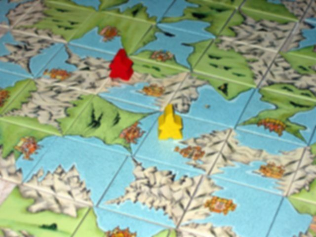 Carcassonne: The Discovery gameplay