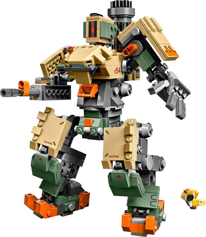 LEGO® Overwatch Bastion components