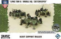 "Dust Tactics: Allies Heavy Support Walker - ""Long Tom II / Mobile HQ / Skysweeper"""