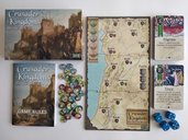 Crusader Kingdoms: The War for the Holy Land components