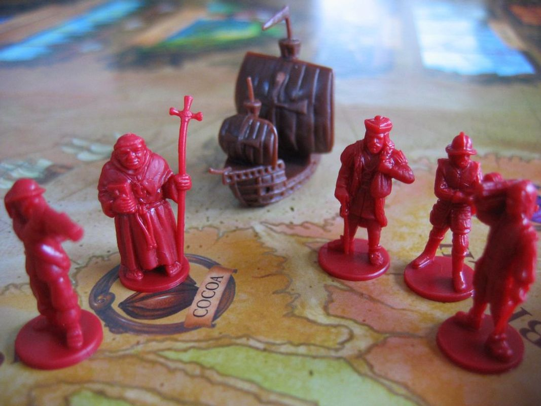 Age of Empires III: The Age of Discovery miniatures