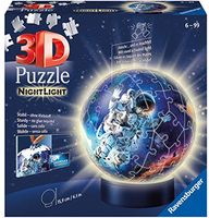 Night Light Puzzle Ball Astronauts in Space