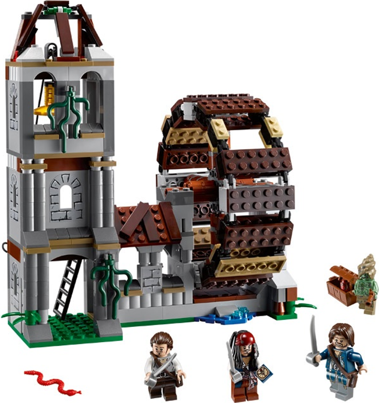 LEGO® Duel at the Mill components