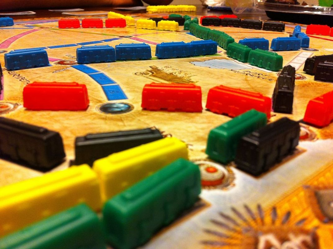 Ticket to Ride Map Collection: Volume 3 - The Heart of Africa gameplay