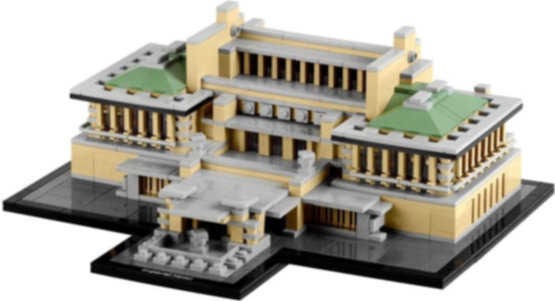 LEGO® Architecture Imperial Hotel components