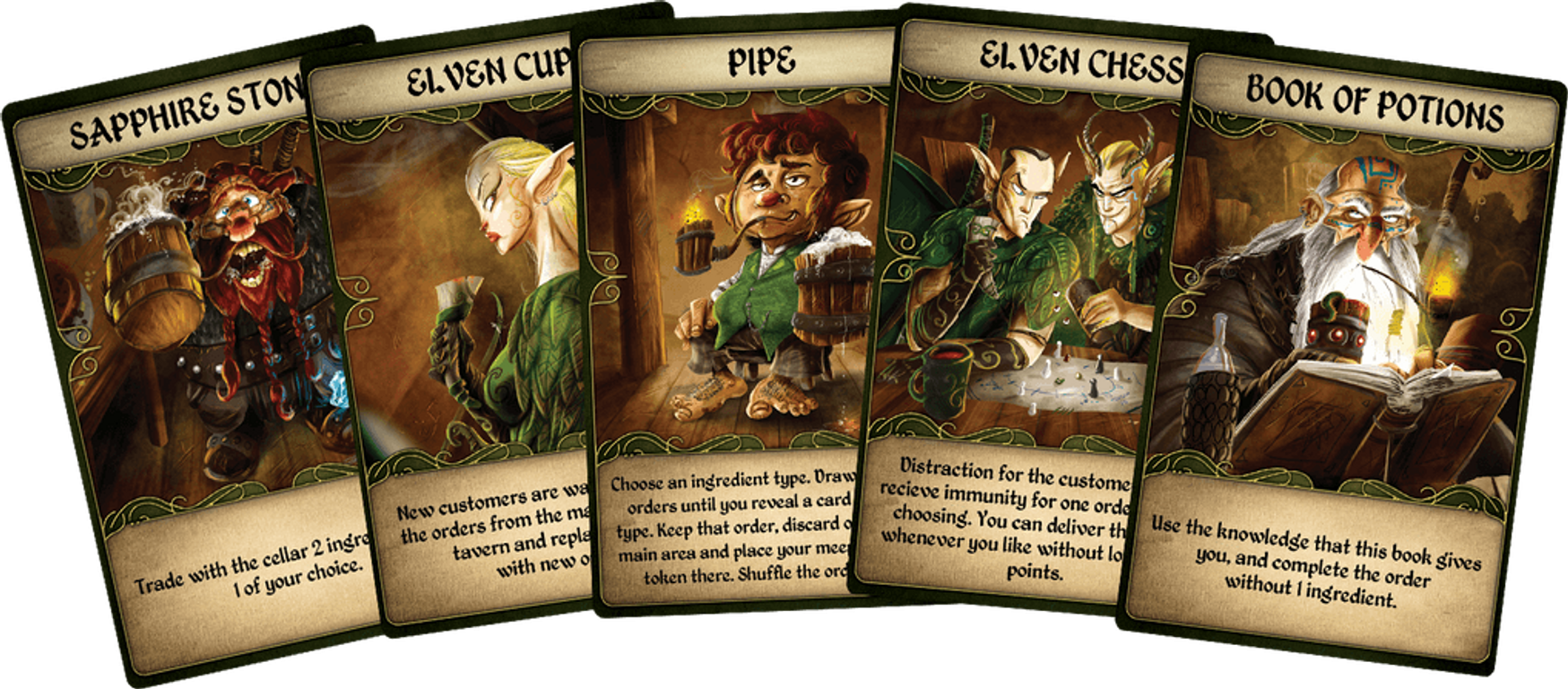 Cavern Tavern cards