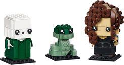 LEGO® BrickHeadz™ Voldemort™, Nagini & Bellatrix components