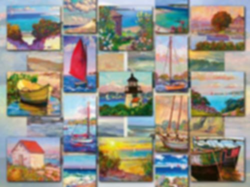 Coastal Collage