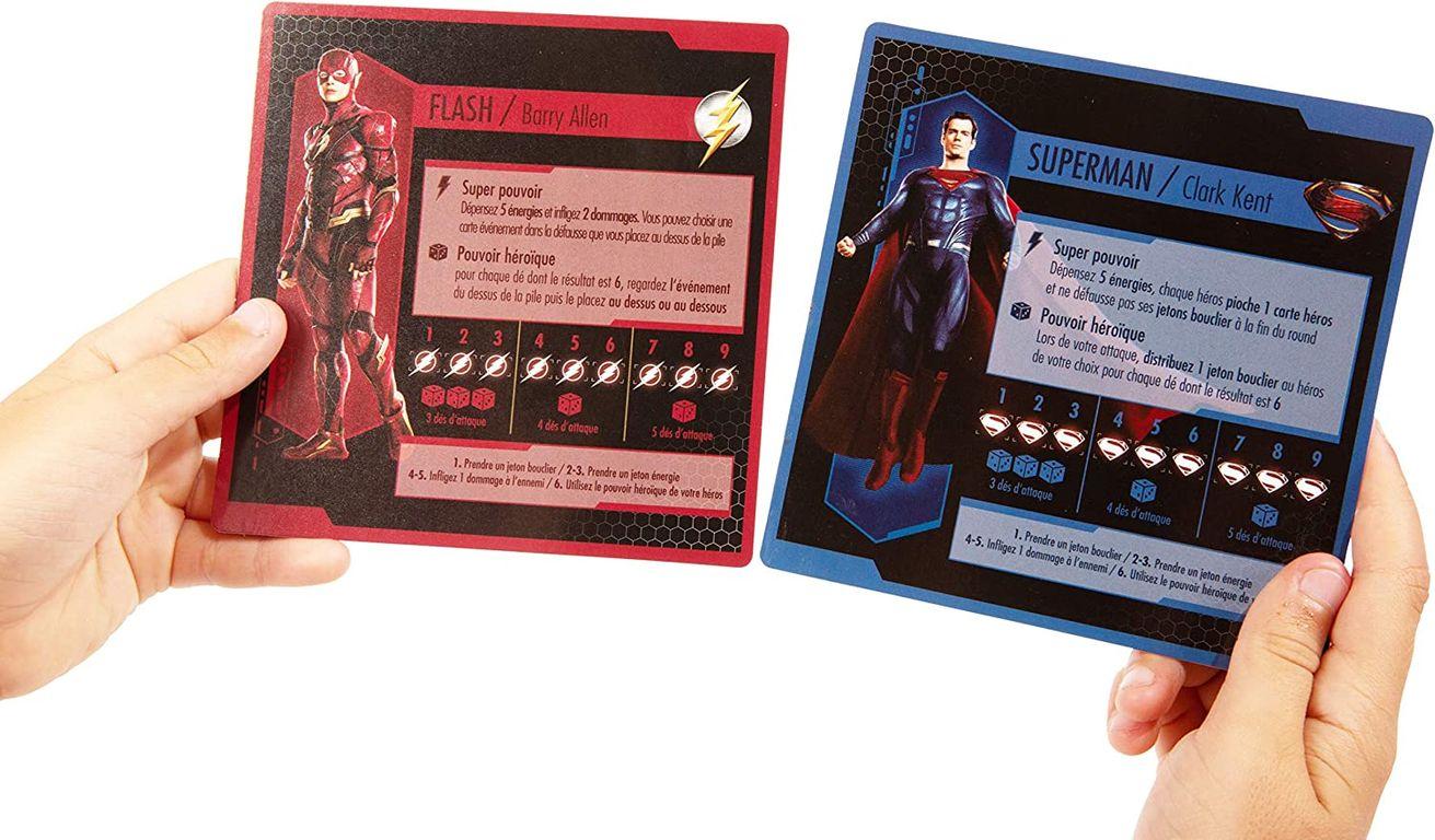 Justice League cards
