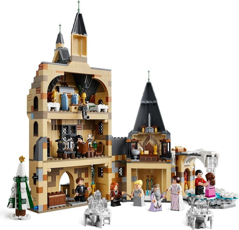 LEGO® Harry Potter Hogwarts™ Clock Tower back side