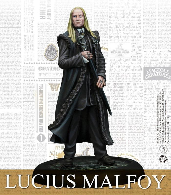 Harry Potter Miniatures Adventure Game: Malfoy Family Expansion Lucius miniature