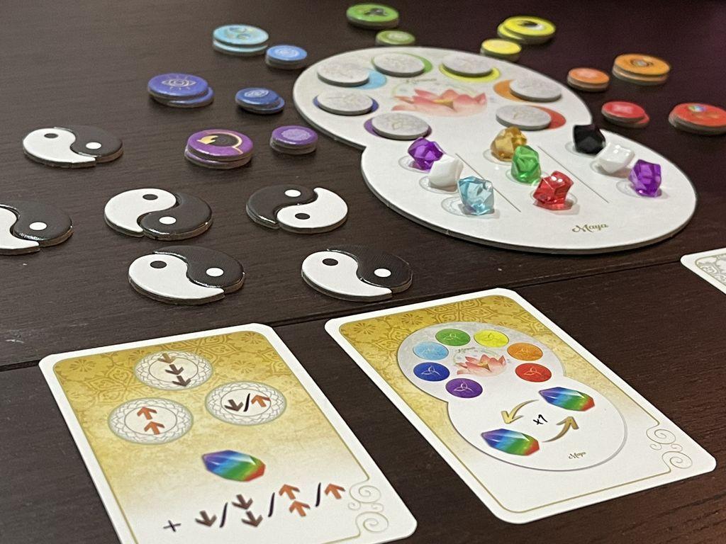 Chakra: Yin Yang components