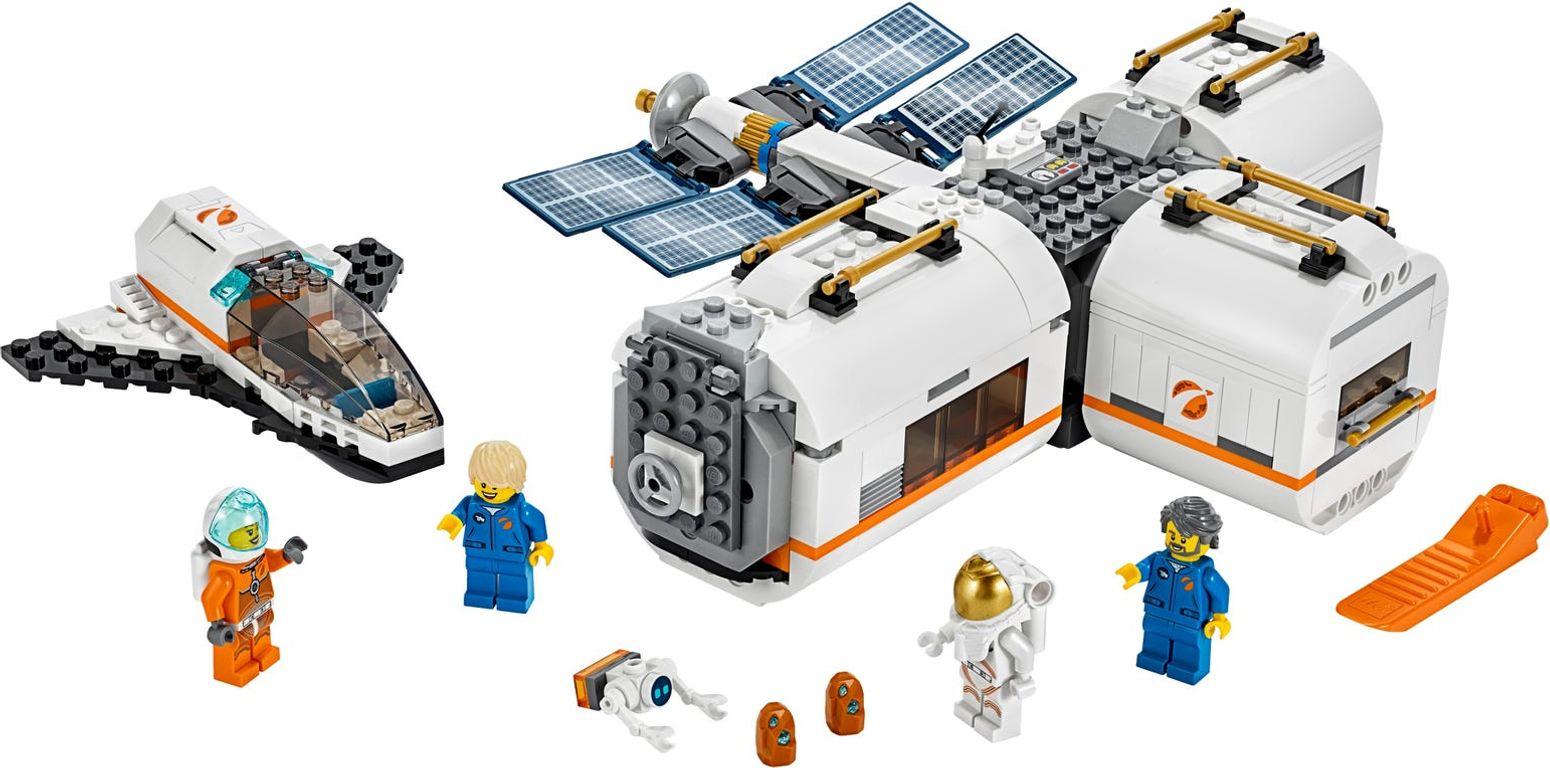 Lunar Space Station components