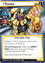 Marvel Champions: The Card Game – The Mad Titan's Shadow Thanos card