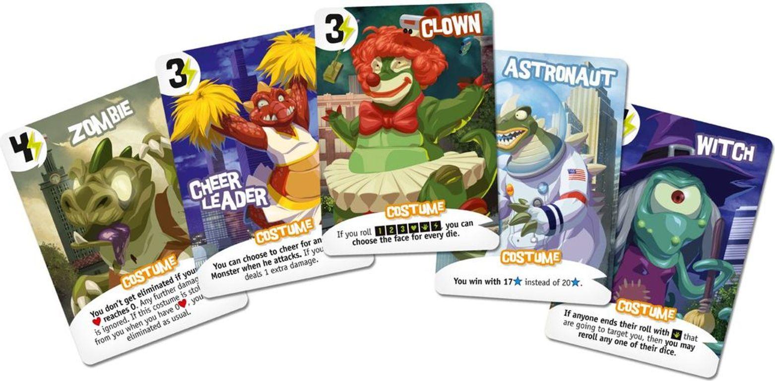 King of Tokyo: Halloween cards