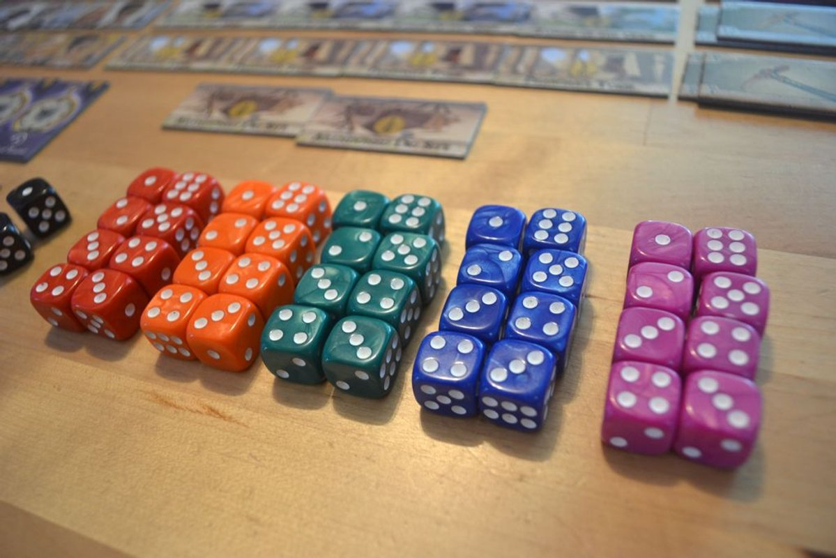 Order of the Gilded Compass dice