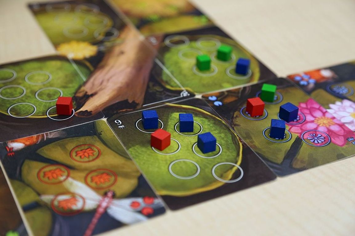 Bullfrogs gameplay