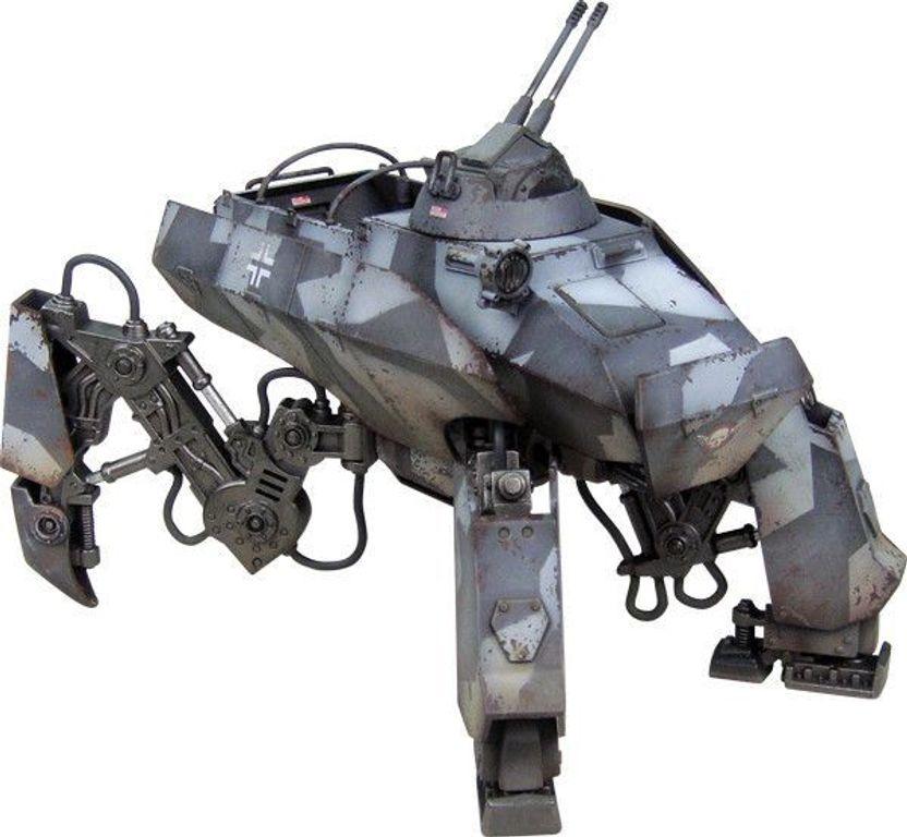 "Dust Tactics: Axis Armored Transport - ""Prinzluther / Sturmprinz"" miniature"