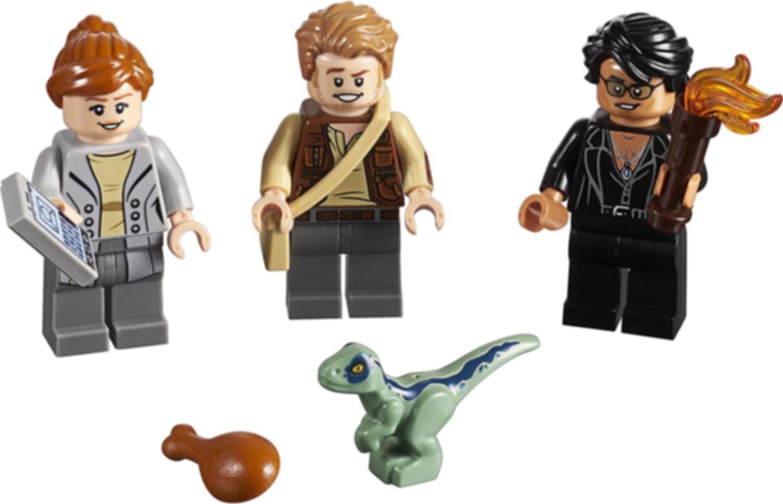 LEGO® Jurassic World Jurassic World Limited Edition Mini Figures Set minifigures