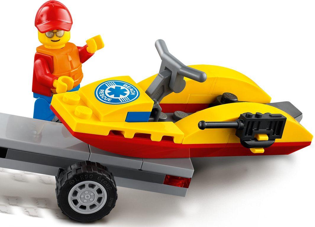 LEGO® City Beach Rescue ATV components