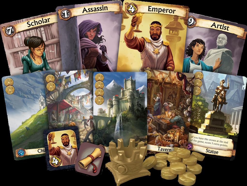 Citadels (2016 edition) cards