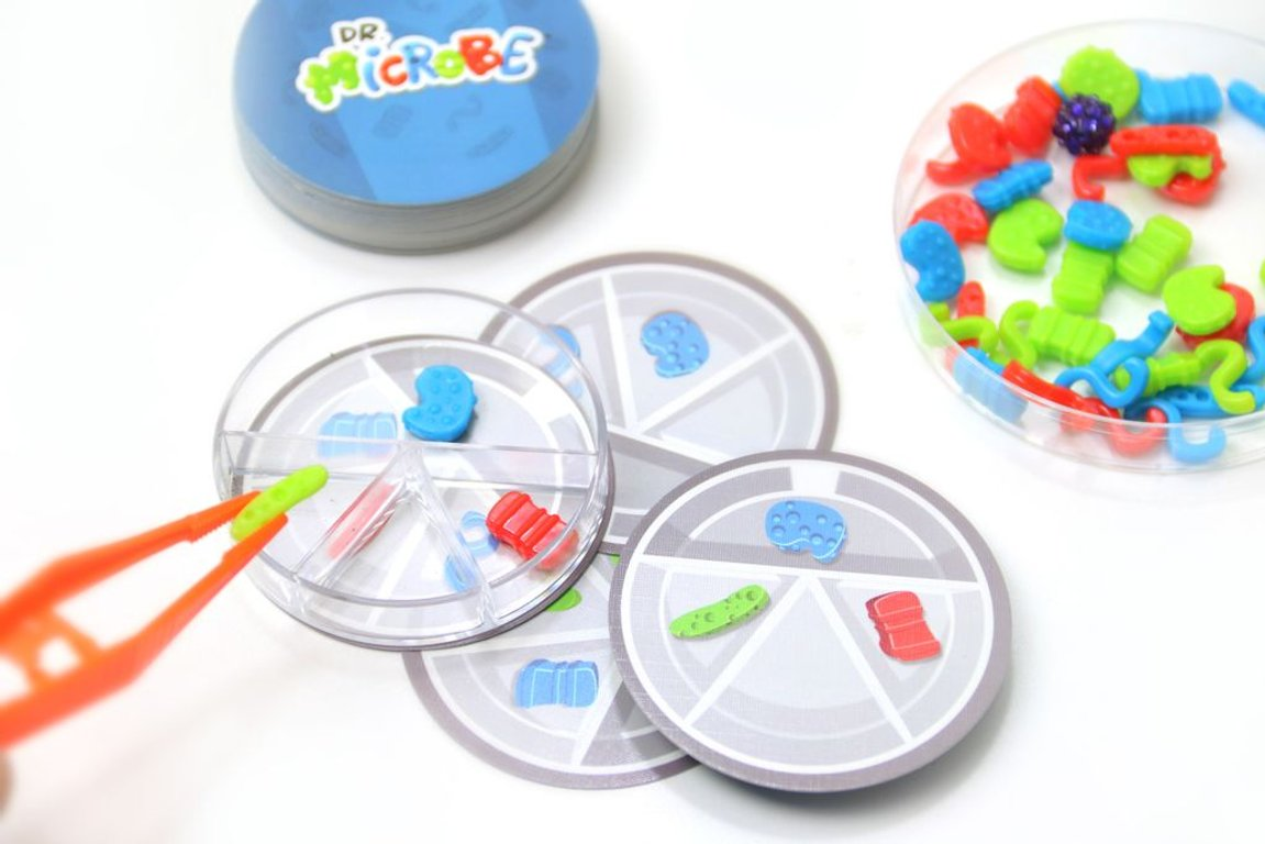 Dr. Microbe components