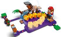LEGO® Super Mario™ Wiggler's Poison Swamp Expansion Set gameplay