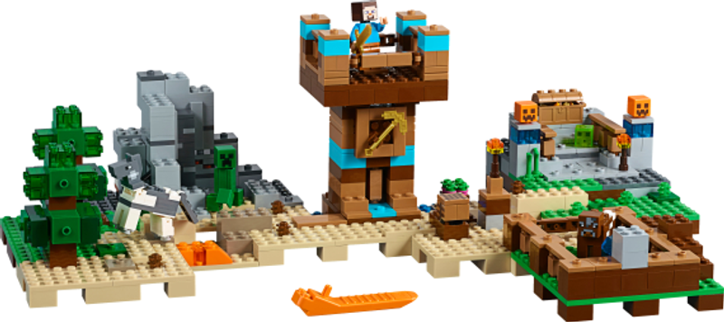 LEGO® Minecraft The Crafting Box 2.0 components