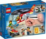 LEGO® City Fire Helicopter Response back of the box