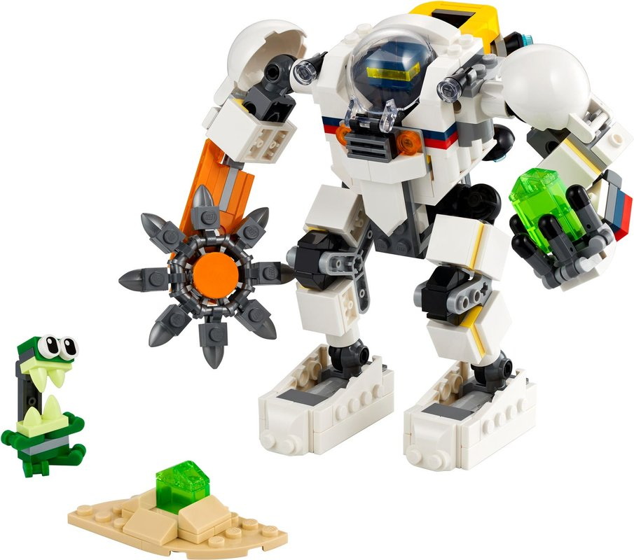 Space Mining Mech components