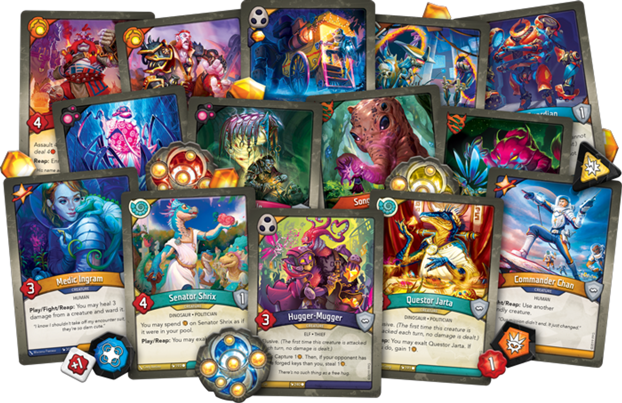 KeyForge: Worlds Collide cartes