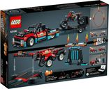 LEGO® Technic Stunt Show Truck & Bike back of the box
