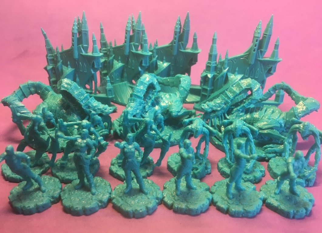 Cthulhu Wars: Ancients miniatures