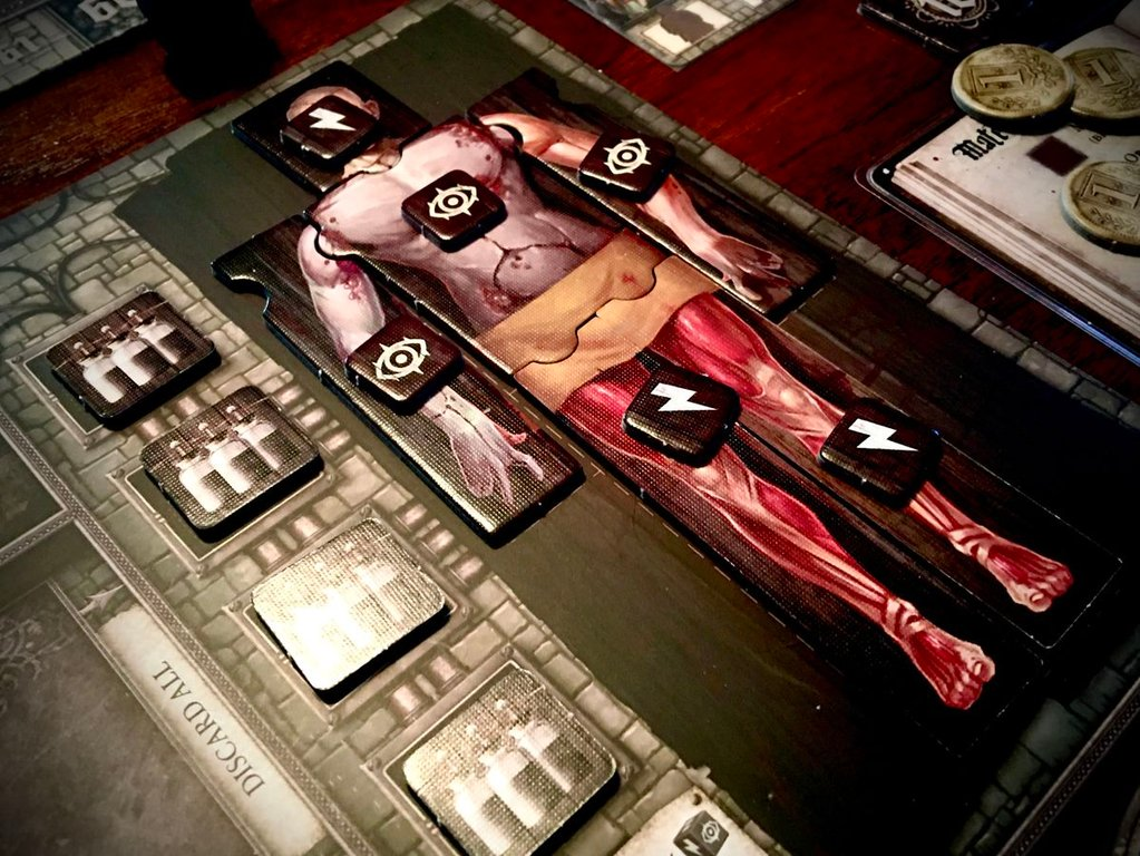 Abomination: The Heir of Frankenstein components