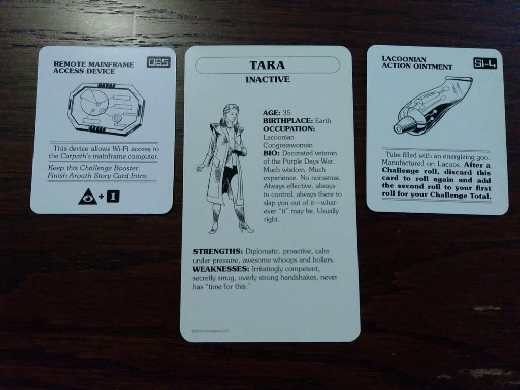 Choose Your Own Adventure: War with the Evil Power Master cards