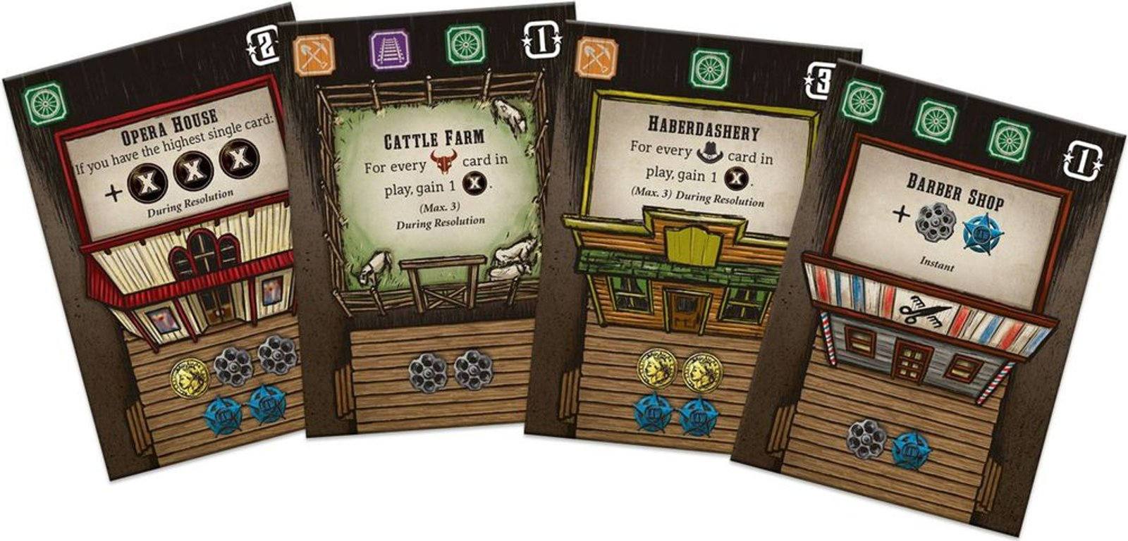 Tiny Epic Western cards