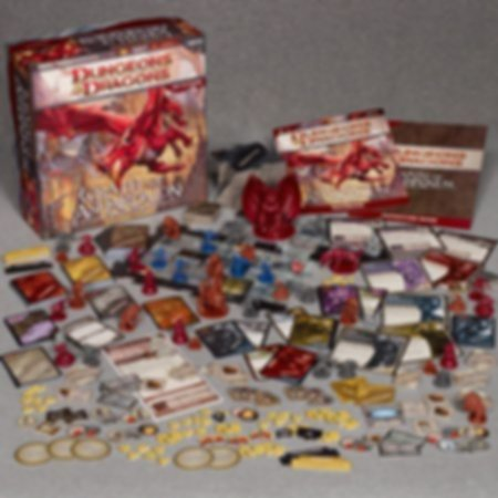 Dungeons & Dragons: Wrath of Ashardalon components